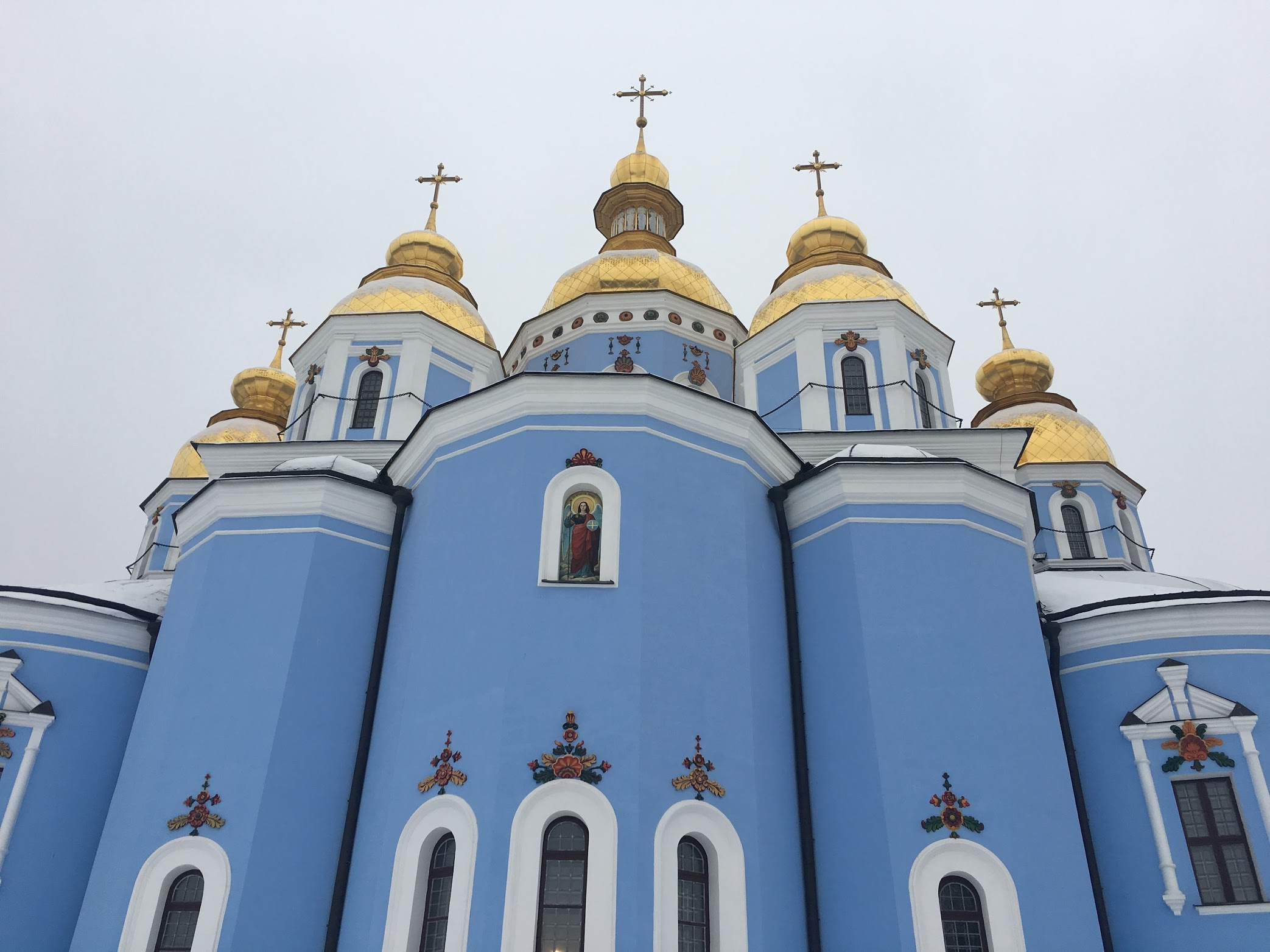 saint michaels golden domed monastery - HD 2086×1564